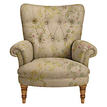 Buy John Lewis Hambleton Armchair, Designers Guild Floreale Natural Online at johnlewis.com