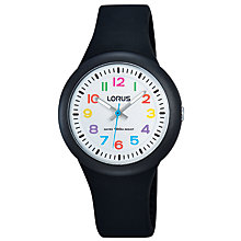 Buy Lorus Children's Silicone Strap Watch Online at johnlewis.com