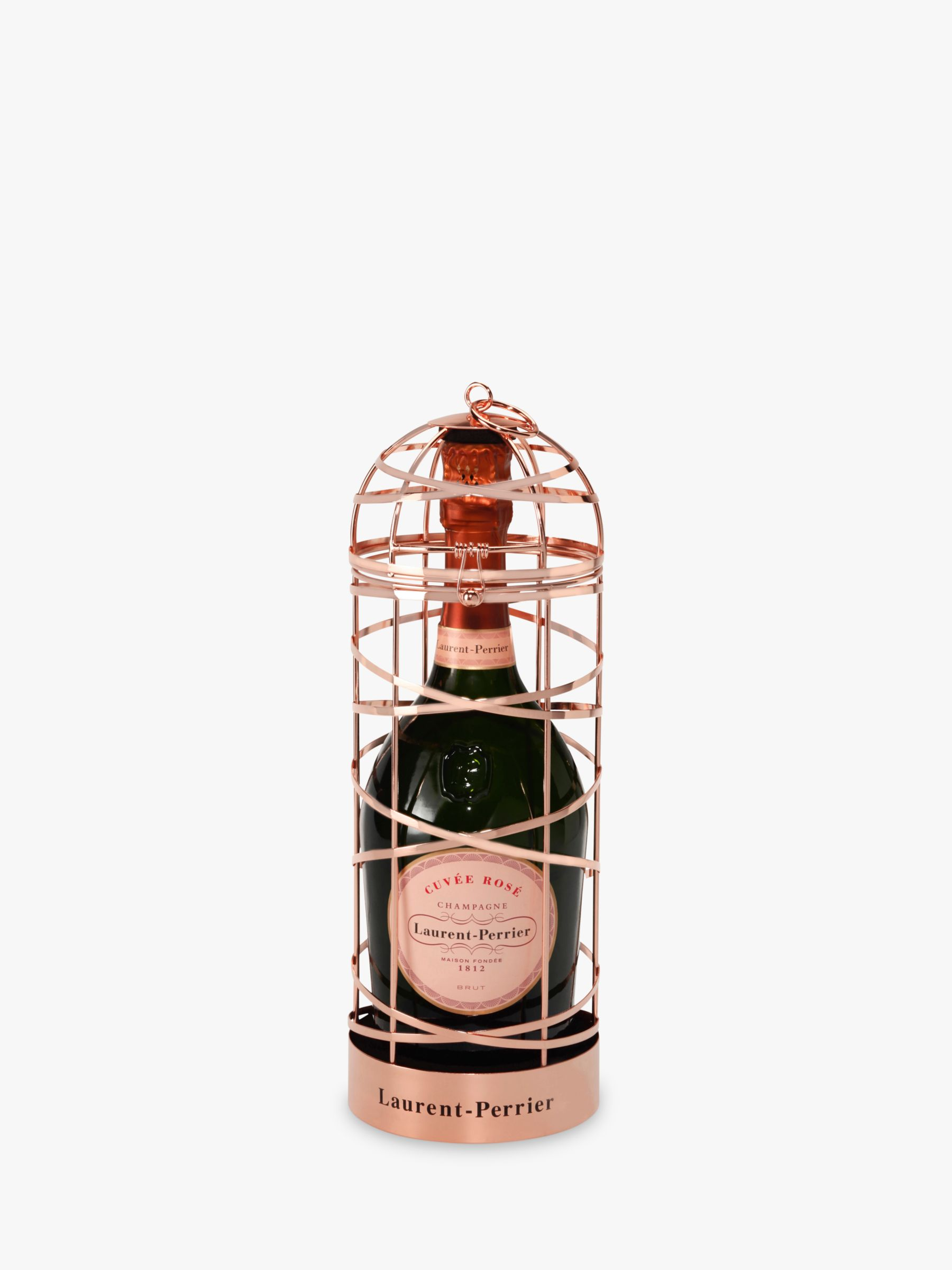 Laurent-Perrier Laurent-Perrier Rosé Champagne Ribbon Cage Special Edition, 75cl