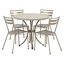 Buy John Lewis Petra 4 Seater Table & Chairs Set Online at johnlewis.com