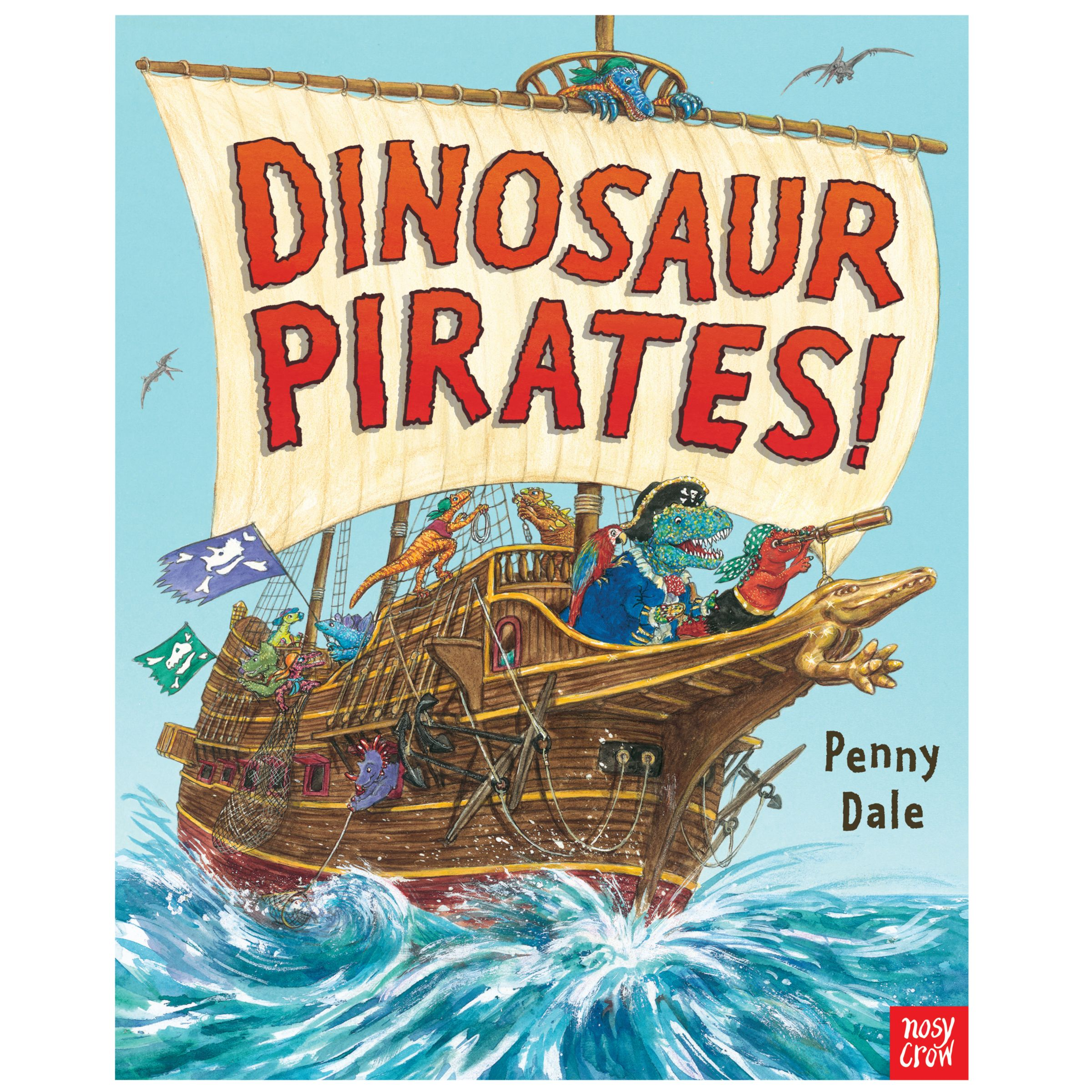 Nosy Crow Dinosaur Pirates Children's Book