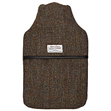 Buy John Lewis Harris Tweed Hot Water Bottle Online at johnlewis.com