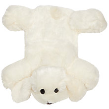 Buy John Lewis Fluffy Dog Hot Water Bottle Online at johnlewis.com