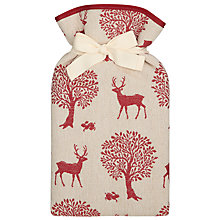 Buy John Lewis Stag Print Hot Water Bottle Online at johnlewis.com