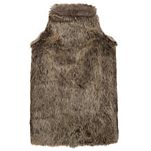 Buy John Lewis Faux Fur Hot Water Bottle Online at johnlewis.com