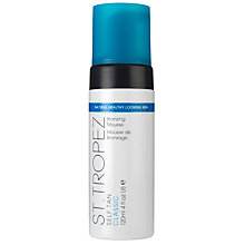 Buy St Tropez Self Tan Classic Bronzing Mousse, 120ml Online at johnlewis.com