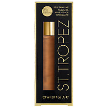 Buy St Tropez Self Tan Luxe Facial Oil, 30ml Online at johnlewis.com