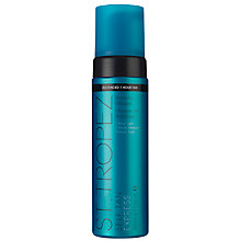 Buy St Tropez Self Tan Express Advanced Bronzing Mousse, 200ml Online at johnlewis.com