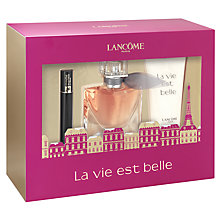 Buy Lancôme La Vie est Belle Eau de Parfum, 30ml Fragrance Gift Set Online at johnlewis.com