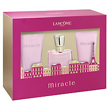Buy Lancôme Miracle Eau de Parfum, 30ml Fragrance Gift Set Online at johnlewis.com