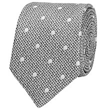 Buy Reiss Ketter Silk Polka Dot Silk Tie Online at johnlewis.com