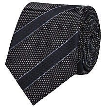 Buy Reiss Wonder Stripe Silk Tie, Navy Online at johnlewis.com