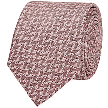 Buy Reiss Senta Herringbone Silk Tie Online at johnlewis.com