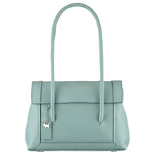 Buy Radley Boundaries Leather Medium Tote Bag, Green Online at johnlewis.com