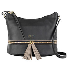 Buy Radley Pickering Leather Small Across Body Bag Online at johnlewis.com