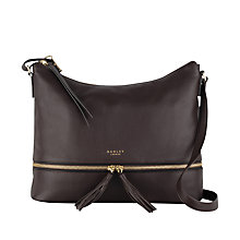 Buy Radley Pickering Leather Large Across Body Bag Online at johnlewis.com