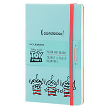 Buy Moleskine Toy Story Limited Edition Hardcover Plain Notebook, Blue Online at johnlewis.com