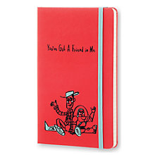 Buy Moleskine Limited Edition Toy Story Large Ruled Notebook, Red Online at johnlewis.com