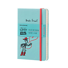 Buy Moleskine Toy Story Limited Edition Hardcover Ruled Pocket Notebook, Blue Online at johnlewis.com