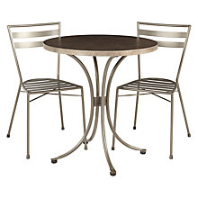 Buy John Lewis Petra Bistro Dining Set Online at johnlewis.com