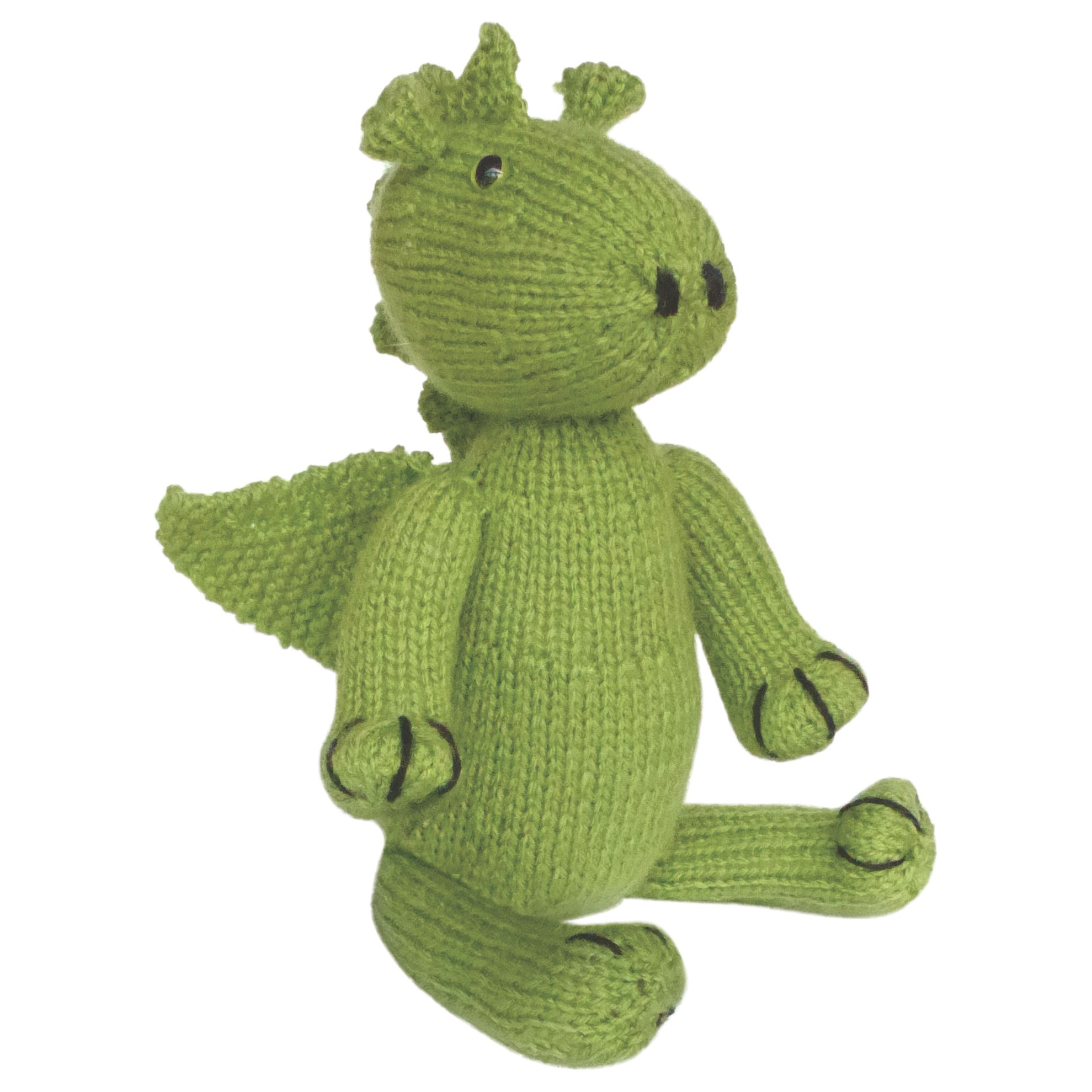 Apples To Pears Apples To Pears Knit Your Own Dragon Knitting Kit