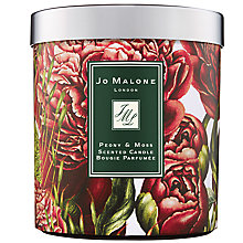 Buy Jo Malone London Peony & Moss Charity Home Candle, 200g Online at johnlewis.com