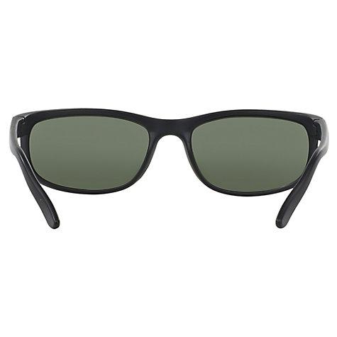 ... Buy Ray-Ban RB2027 Predator 2 Rectangular Sunglasses, Black/Dark Green Online at ...