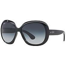 Buy Ray-Ban RB4098 Jackie Ohh II Oversized Sunglasses Online at johnlewis.com