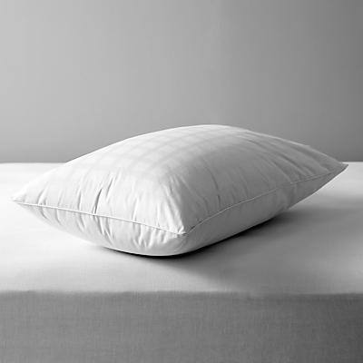 John Lewis 90/10 Fine European Duck Down Standard Pillow, Soft/Medium