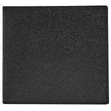 Buy Reiss Bishop Leather Bifold Wallet, Black Online at johnlewis.com
