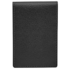 Buy Reiss Starter Leather Fold Wallet, Black Online at johnlewis.com