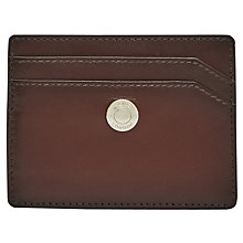 Buy Reiss Chemson Premium Leather Card Holder, Oxblood Online at johnlewis.com
