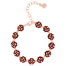 Buy Ted Baker Elicia Enamel Rose Bracelet Online at johnlewis.com
