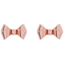 Buy Ted Baker Bette Baby Bow Stud Earrings Online at johnlewis.com
