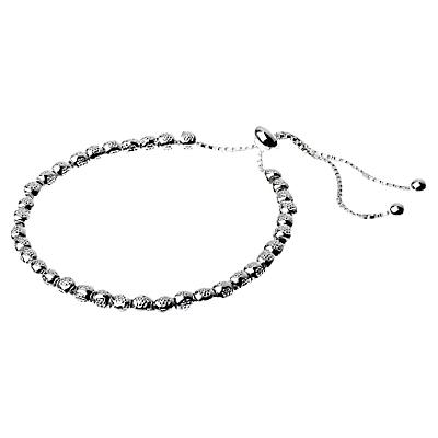 Adele Marie Adjustable Textured Beaded Bracelet