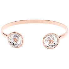 Buy Ted Baker Katrina Swarovski Crystal Double Button Cuff Online at johnlewis.com