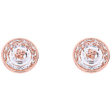 Buy Ted Baker Kinley Button Crystal Stud Earrings Online at johnlewis.com