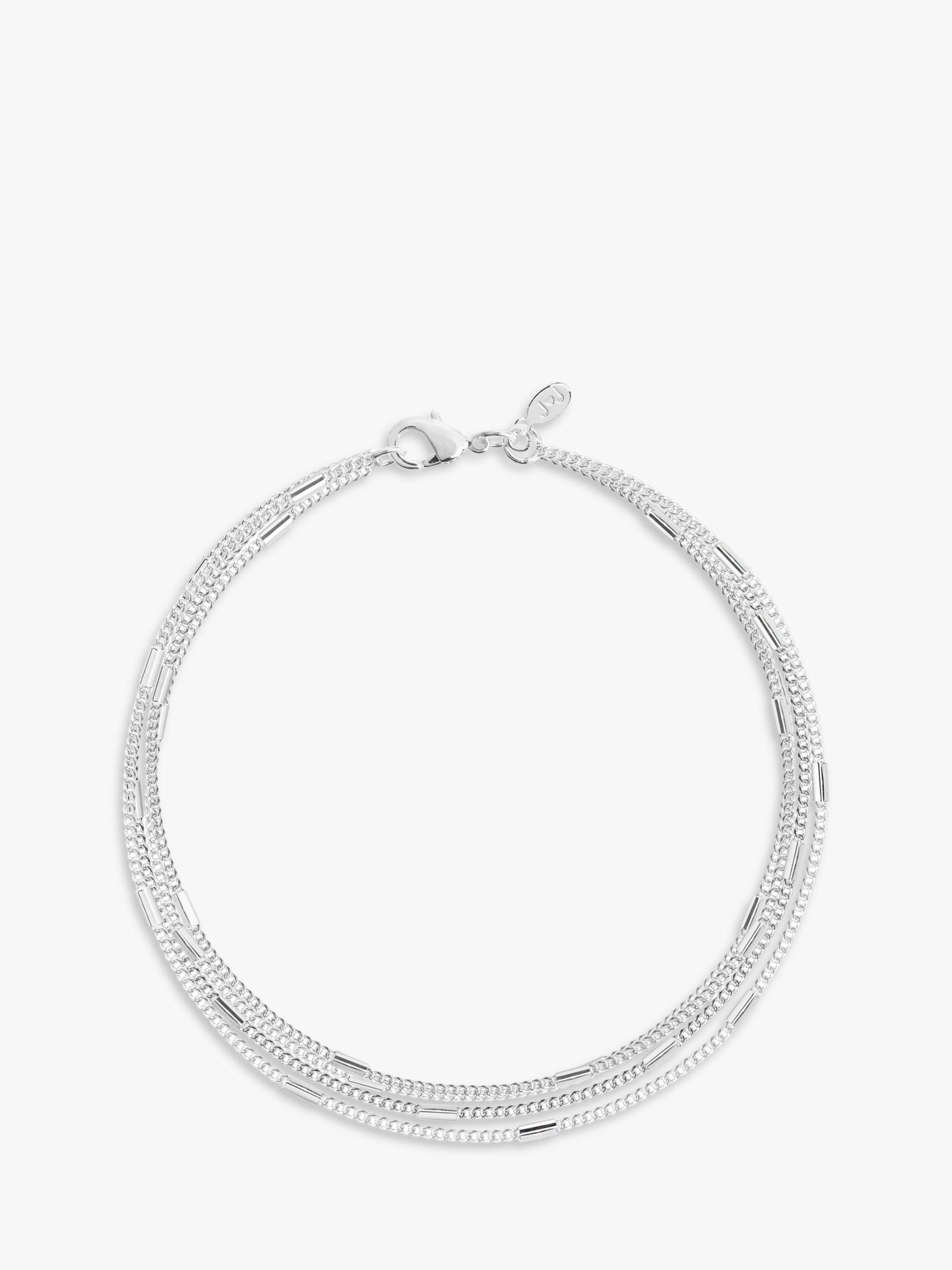 Joma Joma Layered Chain Bracelet, Silver
