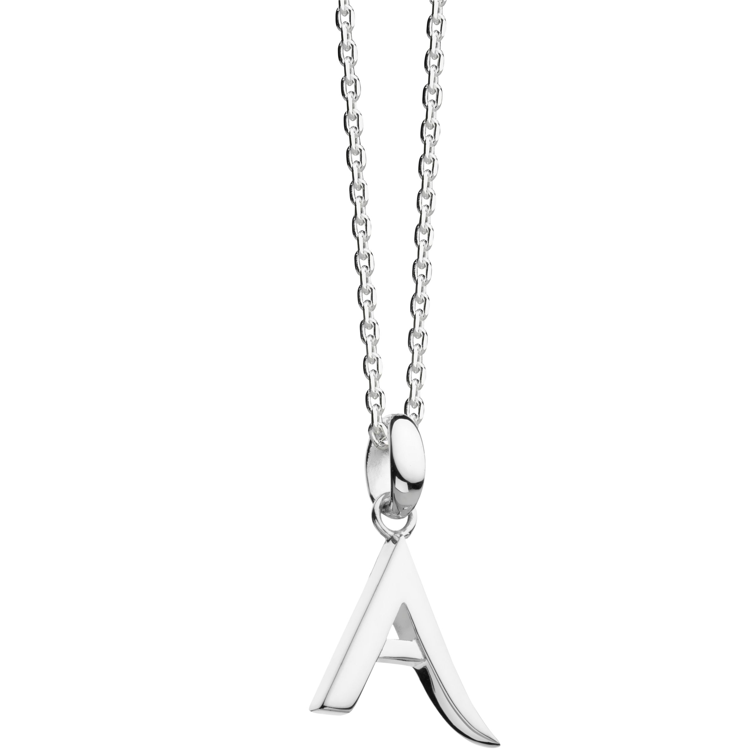 Kit Heath Kit Heath Sterling Silver Initial Pendant Necklace