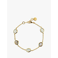 Buy John Lewis Gemstones Semi-Precious Stone Chain Bracelet Online at johnlewis.com