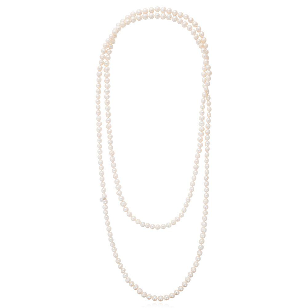 Claudia Bradby Claudia Bradby Long Freshwater Pearl Rope Necklace