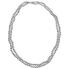Buy Claudia Bradby Long Freshwater Pearl Rope Necklace Online at johnlewis.com