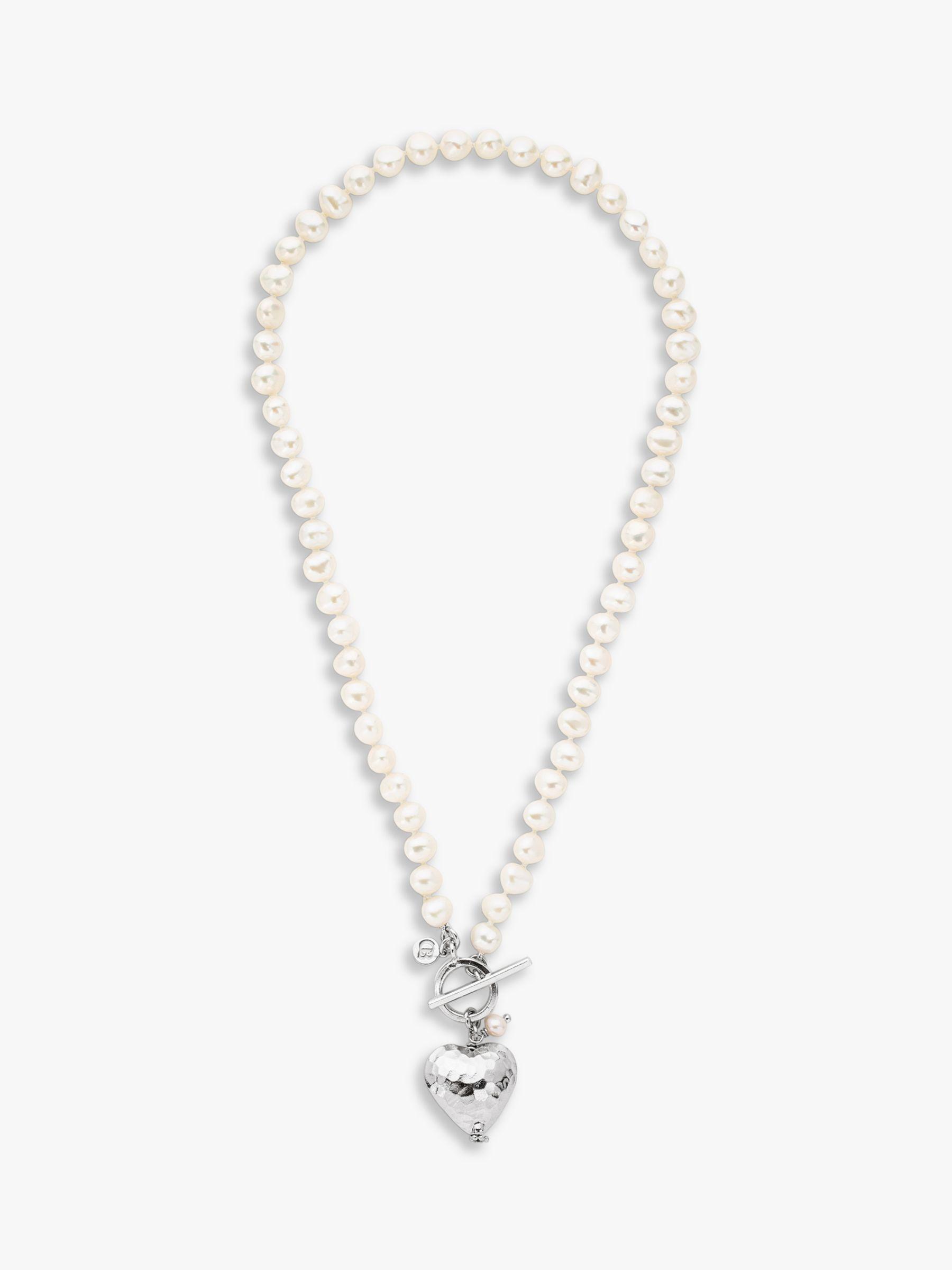 Claudia Bradby Claudia Bradby Bella Hammered Heart Pendant Necklace