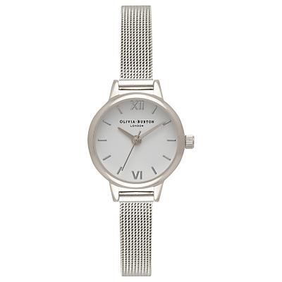 Olivia Burton Women's Mini Dial Bracelet Mesh Strap Watch