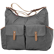 Buy Babymel Frankie Polka Dot Changing Bag, Black Online at johnlewis.com