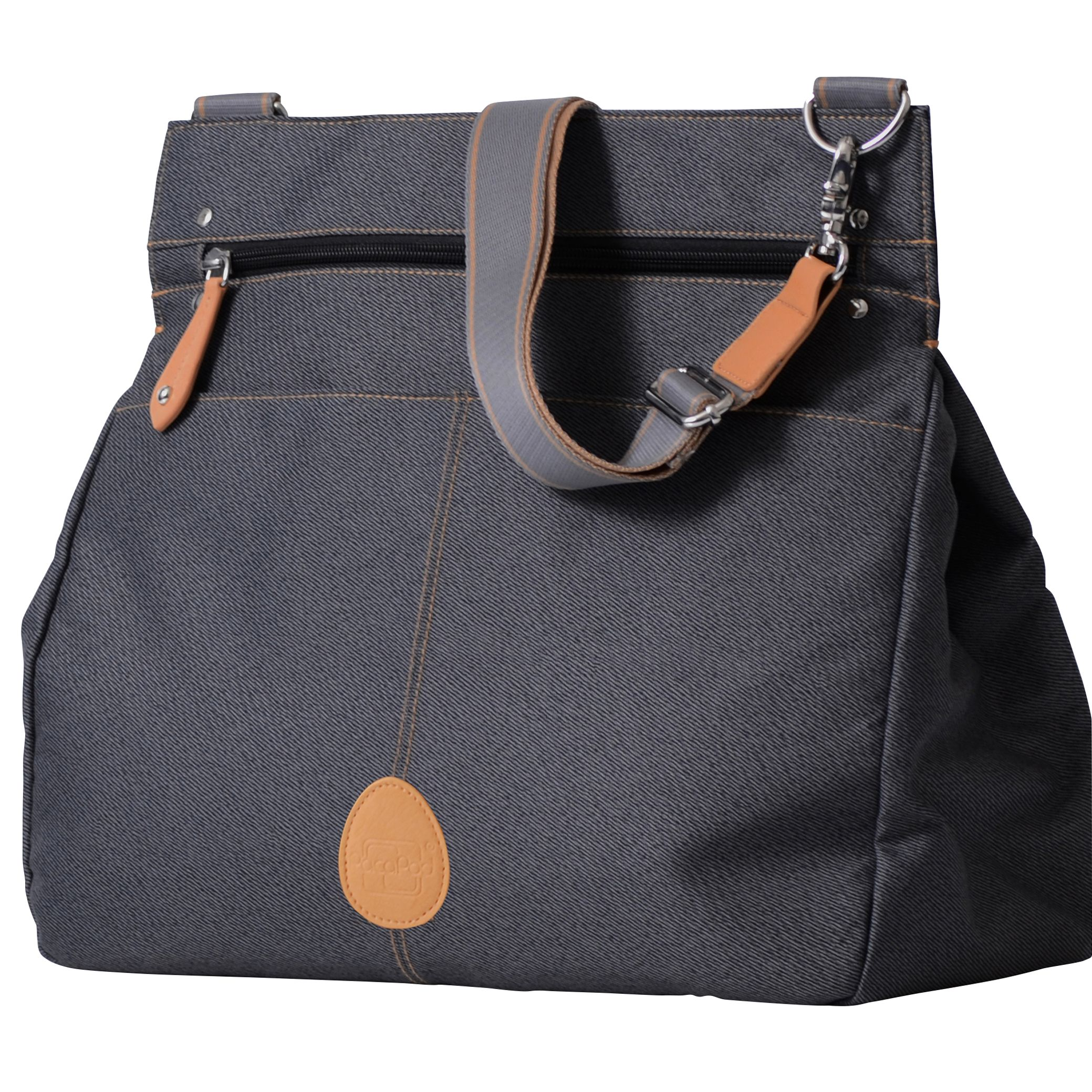 PacaPod PacaPod Oban Changing Bag, Black Charcoal