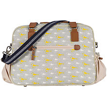 Buy Pink Lining Plain Jane Garden Birds Changing Bag Online at johnlewis.com