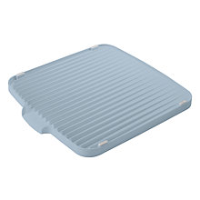 Buy Joseph Joseph Flip Double Sided Dish Drainer, Blue Grey Online at johnlewis.com