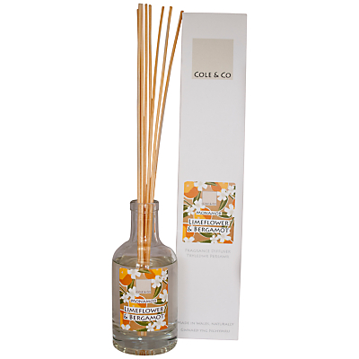 Image of Cole & Co Limeflower and Bergamot Diffuser, 200ml