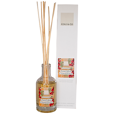 Image of Cole & Co Zanzibar Cedarwood Diffuser, 200ml